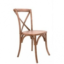 Wood Crossback Chairs
